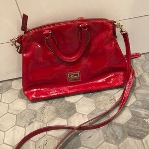 Red dooney and bourke crossbody